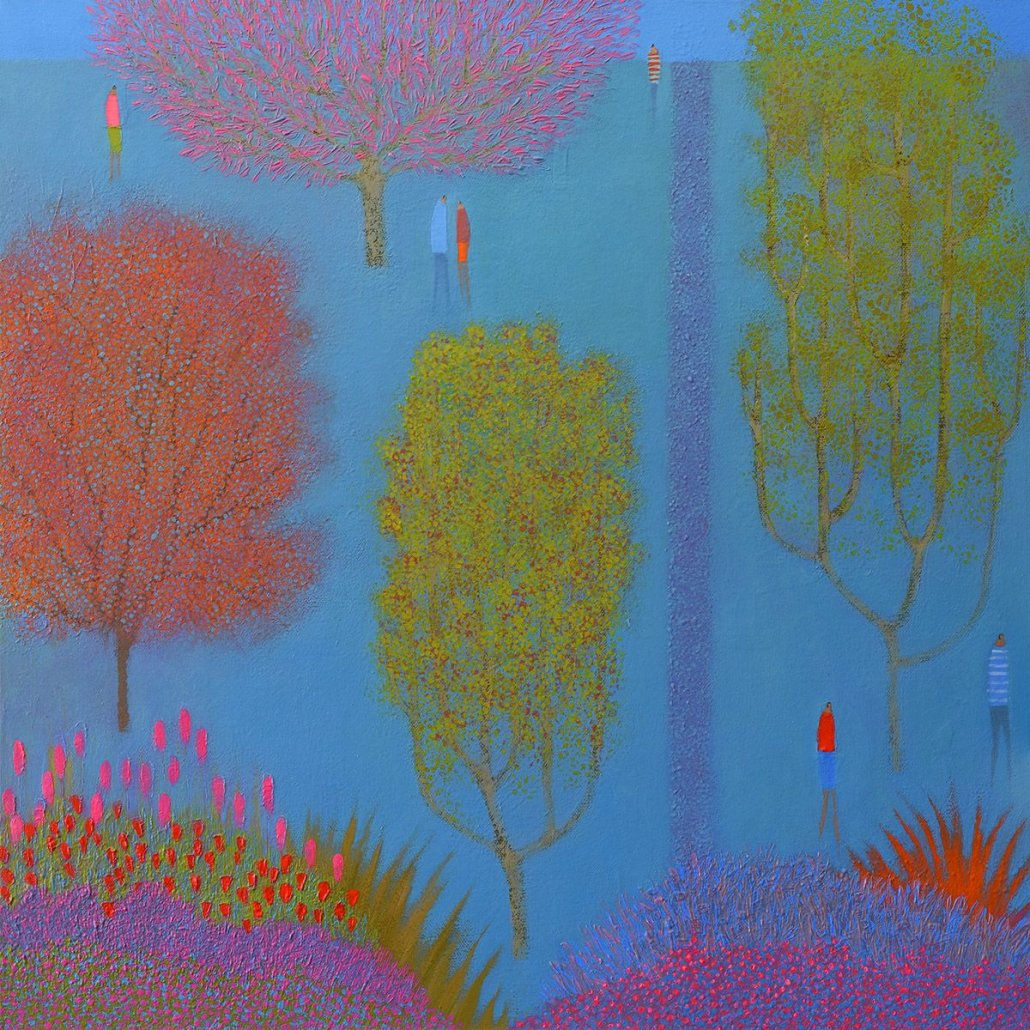 Image 1 of TALKING UNDER A PINK TREE (prev. Beneath the Canopy)