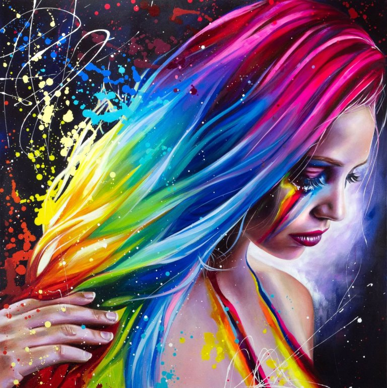 Image 1 of Rainbow Tears Limited Edition