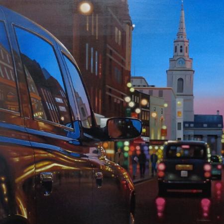 Image 1 of London Dusk Reflections