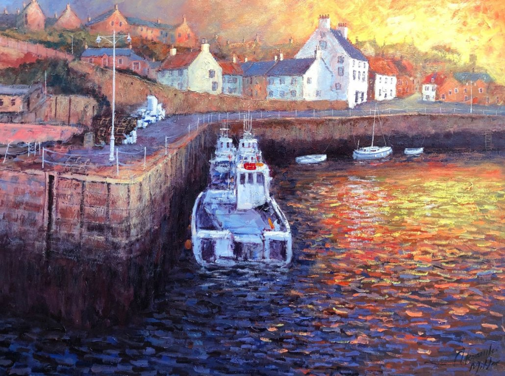 Image 1 of A New Day Dawns | Crail Harbour