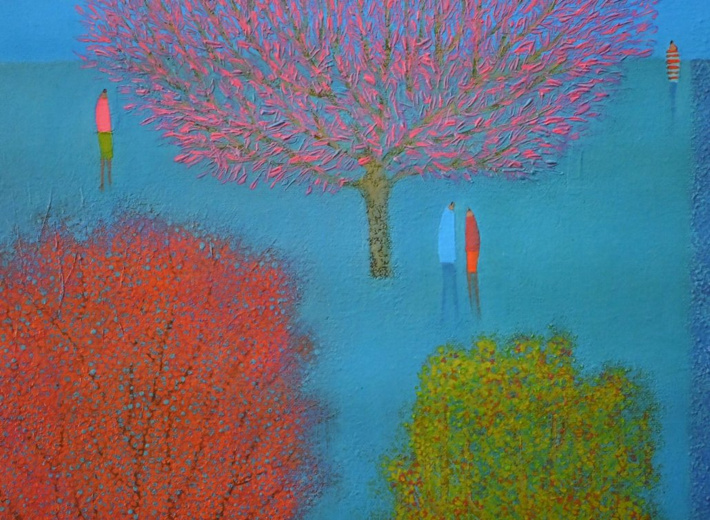 Image 3 of TALKING UNDER A PINK TREE - Limited Edition