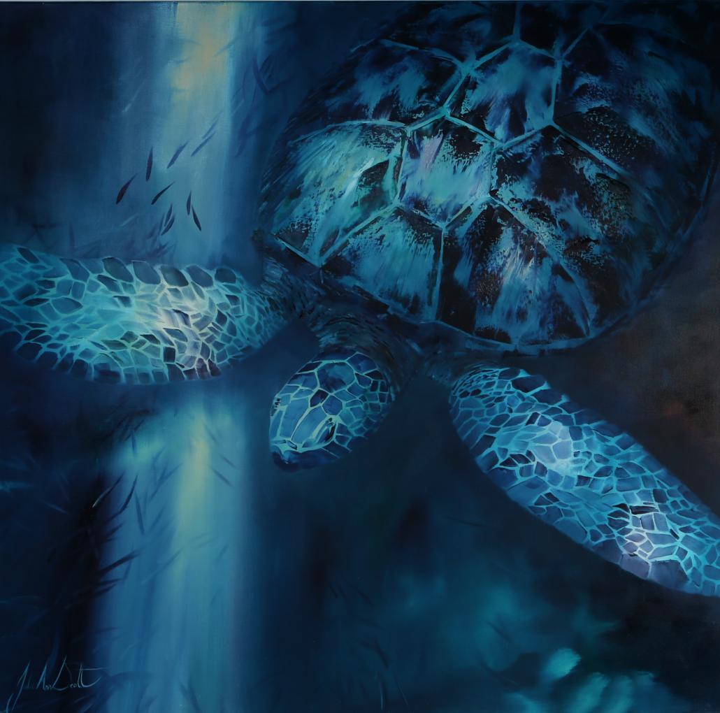 Image 1 of Aqua Light II Original