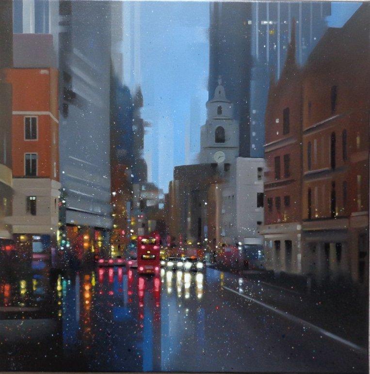 Image 1 of City Rain Original