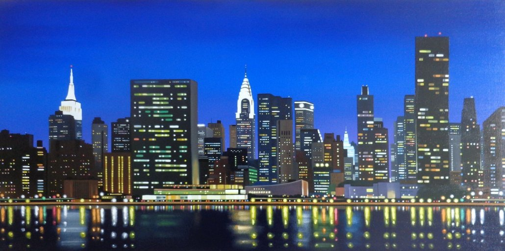 Image 1 of New York Skyline Limited Edition