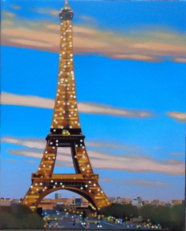 Image 1 of Eiffel Sparkle Original