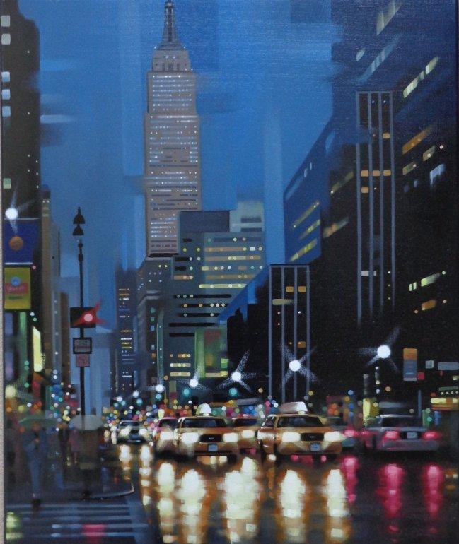 Image 1 of Empire State Traffic Original