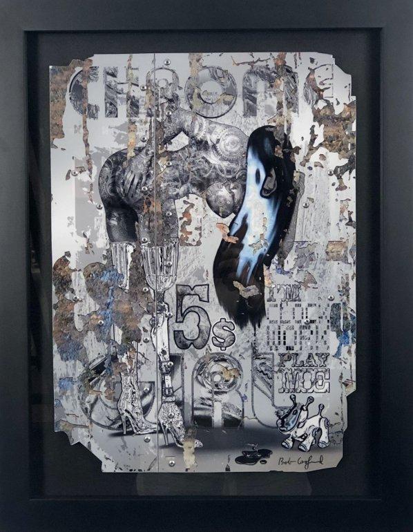 Image 1 of Chrome Girl - I'm Clockwork Atelier Hand Embellished Limited Edition
