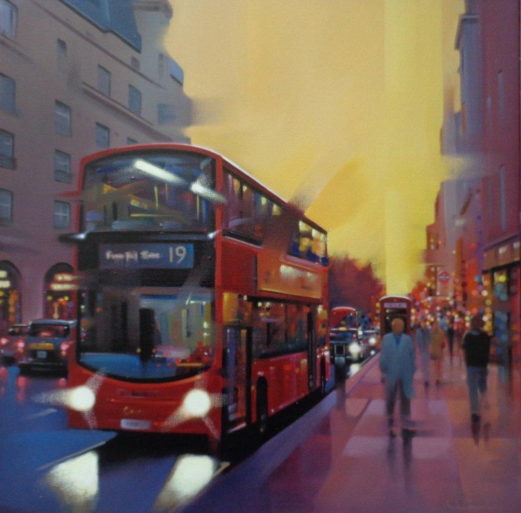 Image 1 of Piccadilly Dusk Original