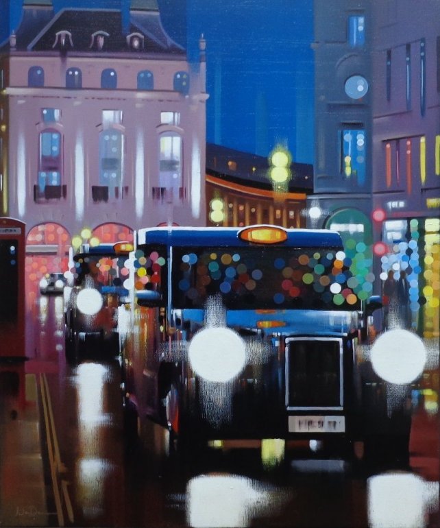Image 1 of Piccadilly Night | Neil Dawson