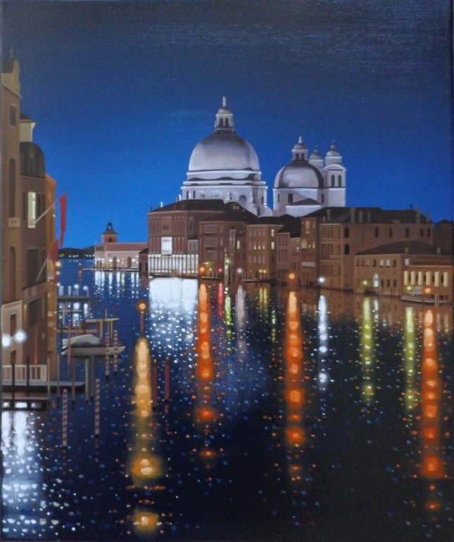 Image 1 of Reflections On The Grand Canal Limited Edition