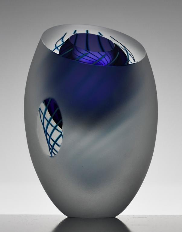 Image 3 of Dizzy Spiral Vase Original (Small)