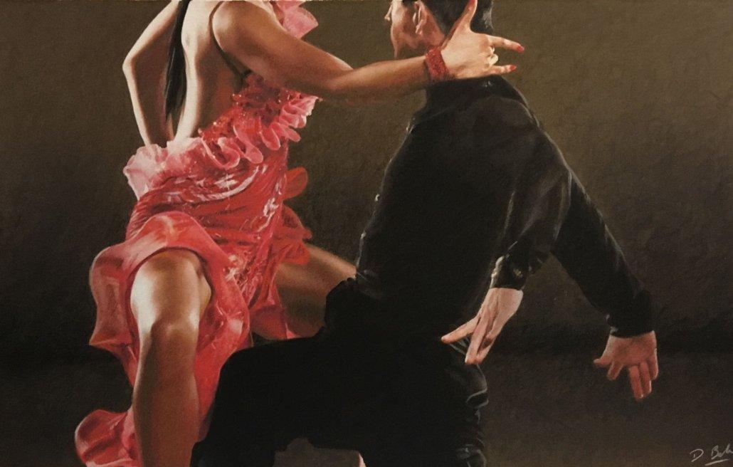 Image 1 of Tango Stance - ORIGINAL