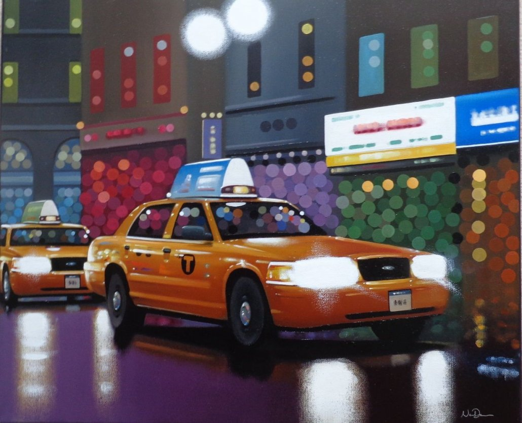 Image 1 of Taxi Night Original