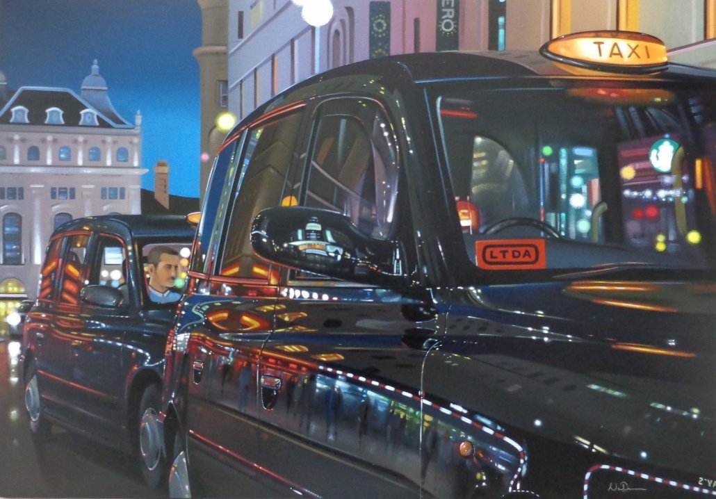 Image 1 of Taxi Reflections Original