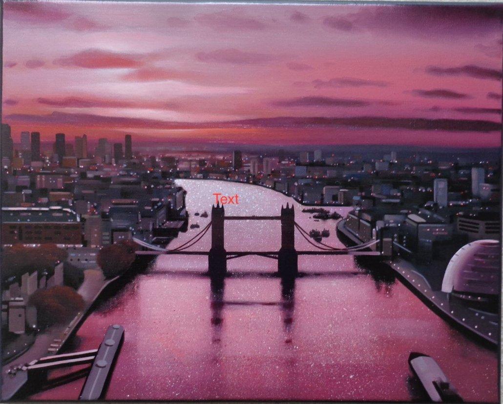 Image 1 of Thames Red - Original