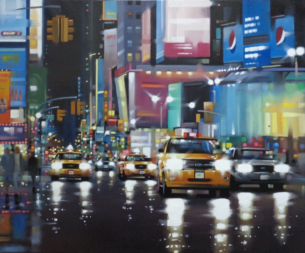 Image 1 of Times Square Traffic - Original