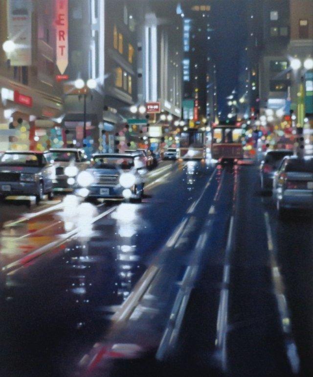Image 1 of Tram Night Original
