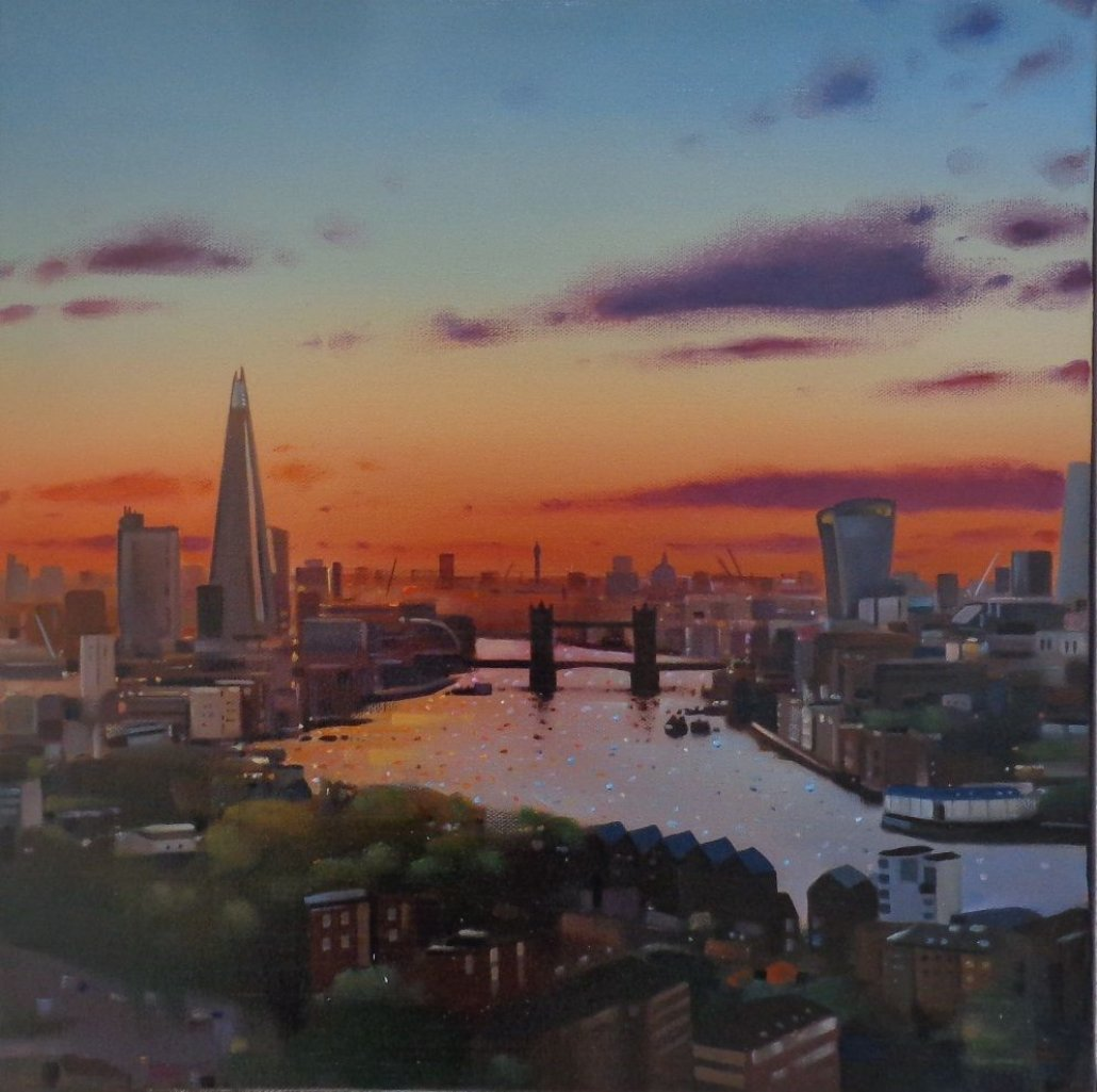 Image 1 of Tranquil Thames - Original