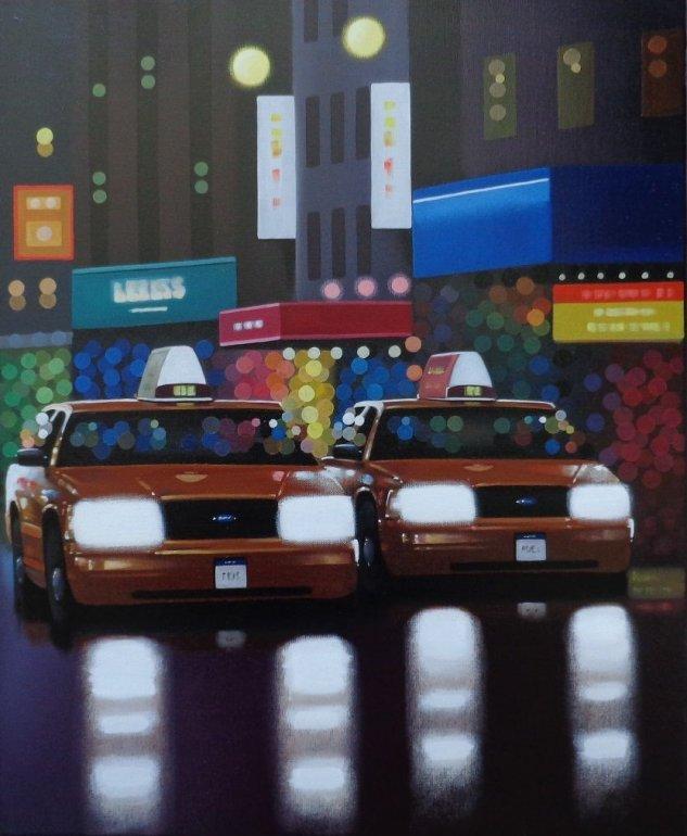 Image 1 of Yellow Cab Reflections Original