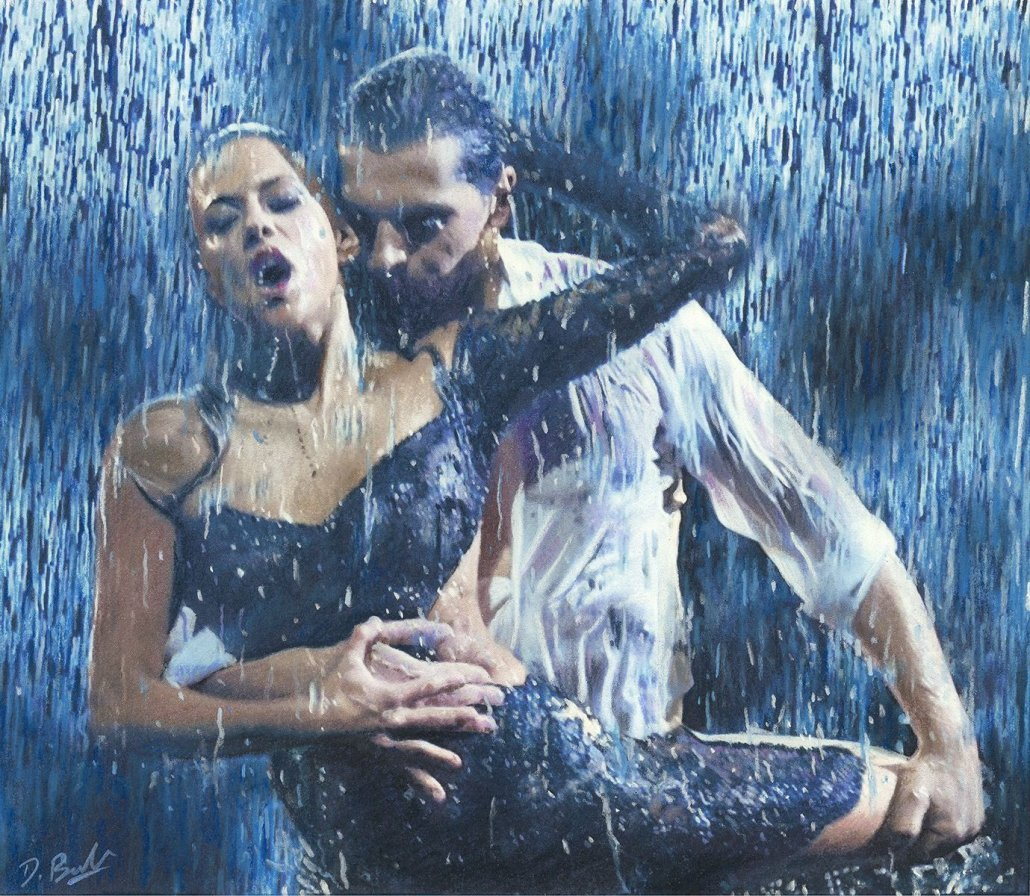 Image 1 of Dancing in the Rain - ORIGINAL