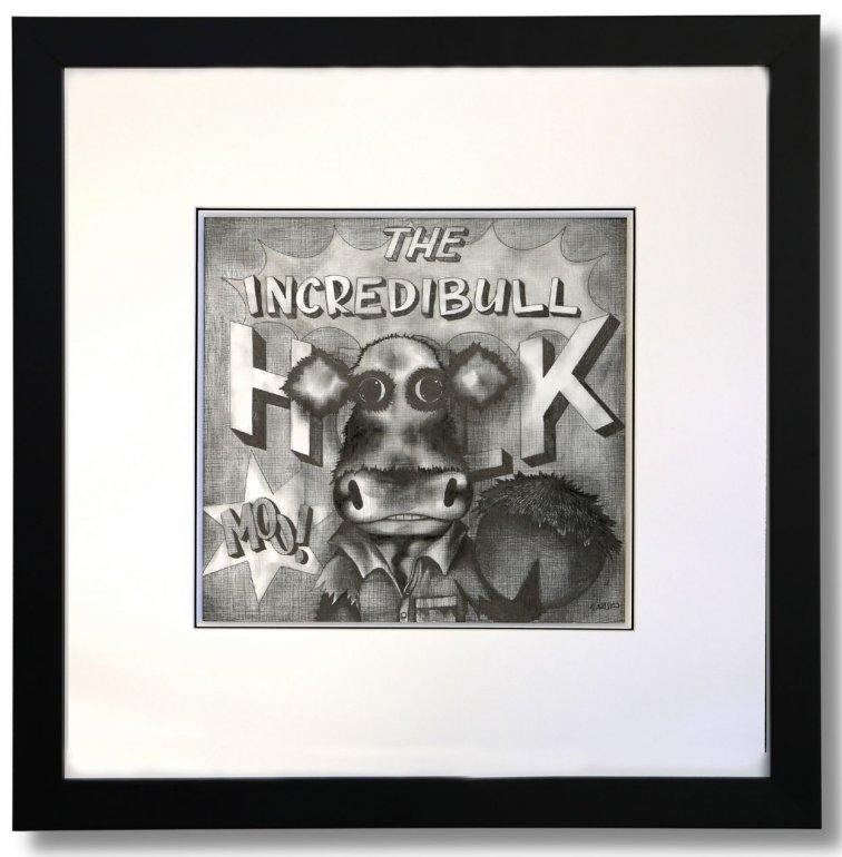 Image 1 of The Incredibull Hulk Original Pencil Sketch