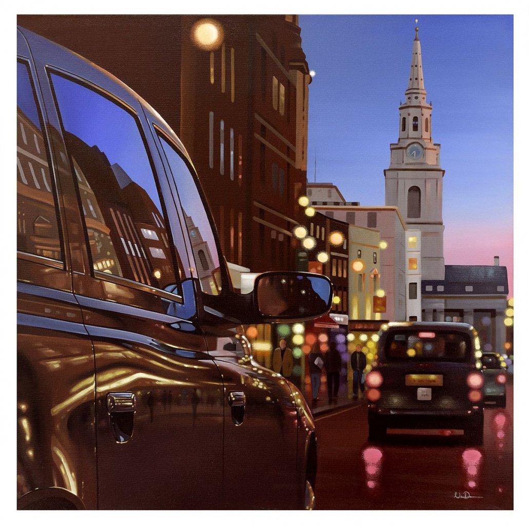 Image 2 of London Dusk Reflections
