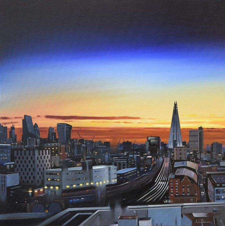 Image 1 of Shard Sunset Original