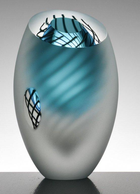 Image 4 of Dizzy Spiral Vase Original (Small)