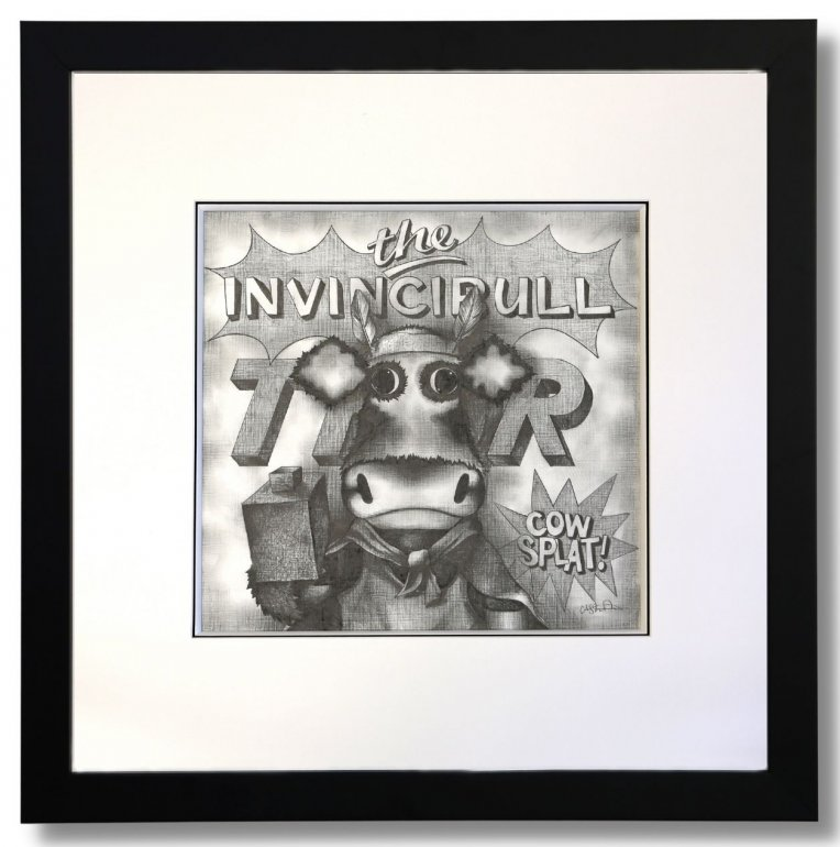 Image 1 of The Invincible Thor Original Pencil Sketch