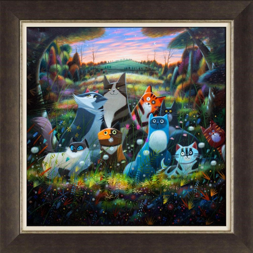 Image 2 of The Woodland Adventures of Lord Peregrine and Lady Bobbles & Co.  Limited Edition